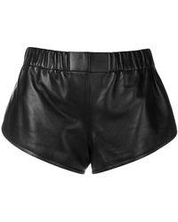Saint Laurent - Elasticated Shorts - Lyst