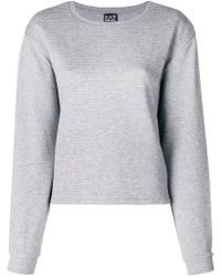 EA7 - Ribbed Jersey Sweater - Lyst