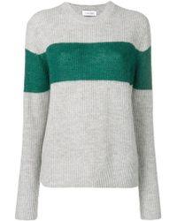 Calvin Klein - Colour-block Fitted Jumper - Lyst