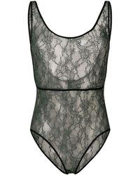 Roseanna Lace Bodysuit - Green