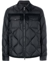 Moncler - Luberon Charcoal Jacket - Lyst