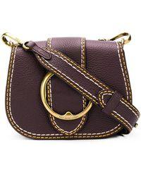 Polo Ralph Lauren - Leather Cross Body Bag - Lyst