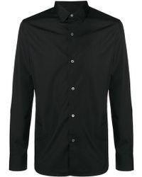 Ann Demeulemeester - Long-sleeve Fitted Shirt - Lyst