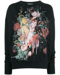 Alexander McQueen - Floral Painting Sweatshirt - Lyst