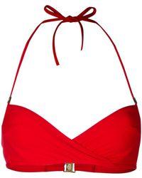 La Perla - Aquamarine Underwired Bandeau Bikini Bra - Lyst