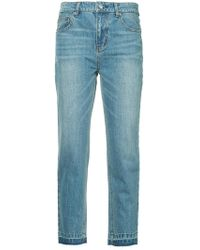 Guild Prime - Cropped Skinny Jeans - Lyst