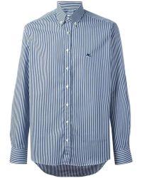 Etro - Pinstriped Button Down Shirt - Lyst