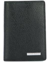 BOSS - Textured Fold Wallet - Lyst