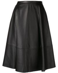 DROMe - Flared Skirt - Lyst