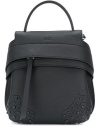 Tod's | Wave Studded Rucksack | Lyst