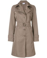 Akris Punto - Belted Trench Coat - Lyst