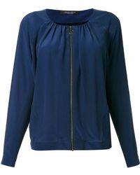 Roberto Collina - Blouse Zipped Jacket - Lyst