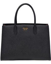 Prada Bibliothèque Bag - Black