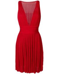 Antonino Valenti - Plunging V-neck Dress - Lyst