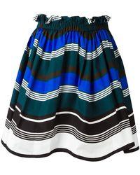 Fendi - Waves Skirt - Lyst