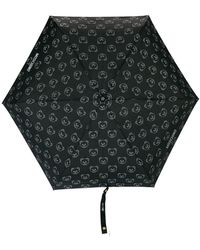 Moschino - A Bear And Logo Print Umbrella - Lyst