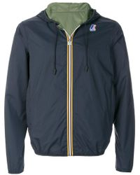 K-Way - Hooded Jacket - Lyst