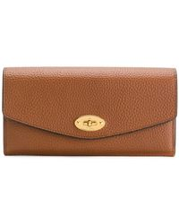 Mulberry - Pebbled Twist-lock Purse - Lyst