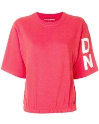DKNY - Logo Sleeve T-shirt - Lyst