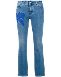 Stella McCartney - Palm Tree Kick Jeans - Lyst