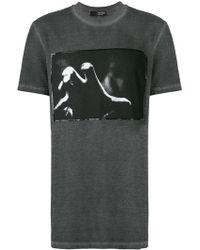 Tom Rebl - Hand Print T-shirt - Lyst