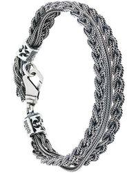 Emanuele Bicocchi - Chained Bracelet - Lyst