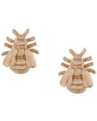 Alex Monroe - Bee Stud Earrings - Lyst