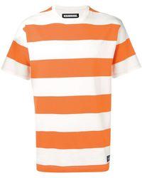 Neighborhood - Striped Short-sleeve T-shirt - Lyst