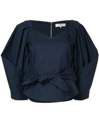 Sea - Puff Sleeved Sweetheart Blouse - Lyst