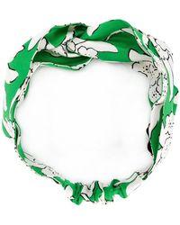 Valentino | Floral Printed Headband | Lyst