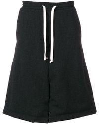 Societe Anonyme - Drawstring Wide Leg Shorts - Lyst