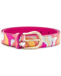 Emilio Pucci - Abstract Printed Belt - Lyst