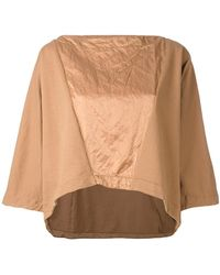 Andrea Ya'aqov - Panelled Boxy T-shirt - Lyst