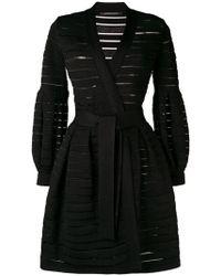 Antonino Valenti - Striped Structured Coat - Lyst