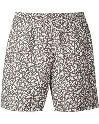 Loro Piana - Printed Swimming Shorts - Lyst