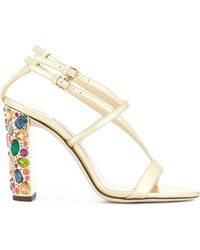 Jimmy Choo - Maeve 100 Sandals - Lyst