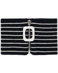 JW Anderson - Knitted Striped Neckband - Lyst