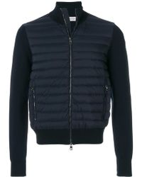 Moncler - Padded Front Cardigan - Lyst