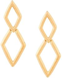 Kenneth Jay Lane - Diamond Drop Earrings - Lyst