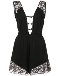 Morgan Lane - Lais Romper - Lyst