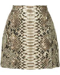 Elie Saab - Mini Skirt With Slits - Lyst