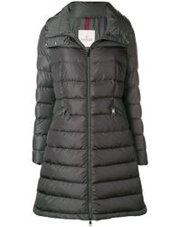 Moncler - Down Filled Mid-length Hooded Coat - Lyst