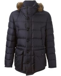 Moncler - Cluny Padded Coat - Lyst