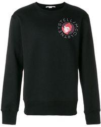 Stella McCartney - Dotted Logo Print Sweatshirt - Lyst