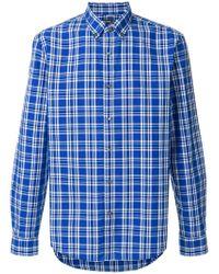 MICHAEL Michael Kors - Classic Checked Shirt - Lyst