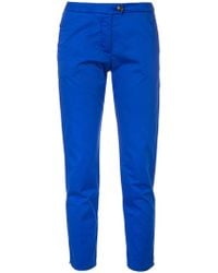 Woolrich - New York Cropped Trousers - Lyst