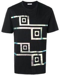 Versace - T-Shirt mit Print - Lyst