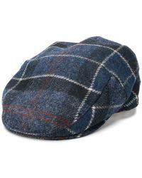 Barbour - Tweed Flat Cap - Lyst