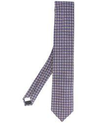 Lardini - Checked Tie - Lyst