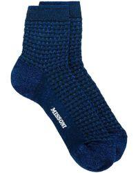 M Missoni - Tweed Socks - Lyst